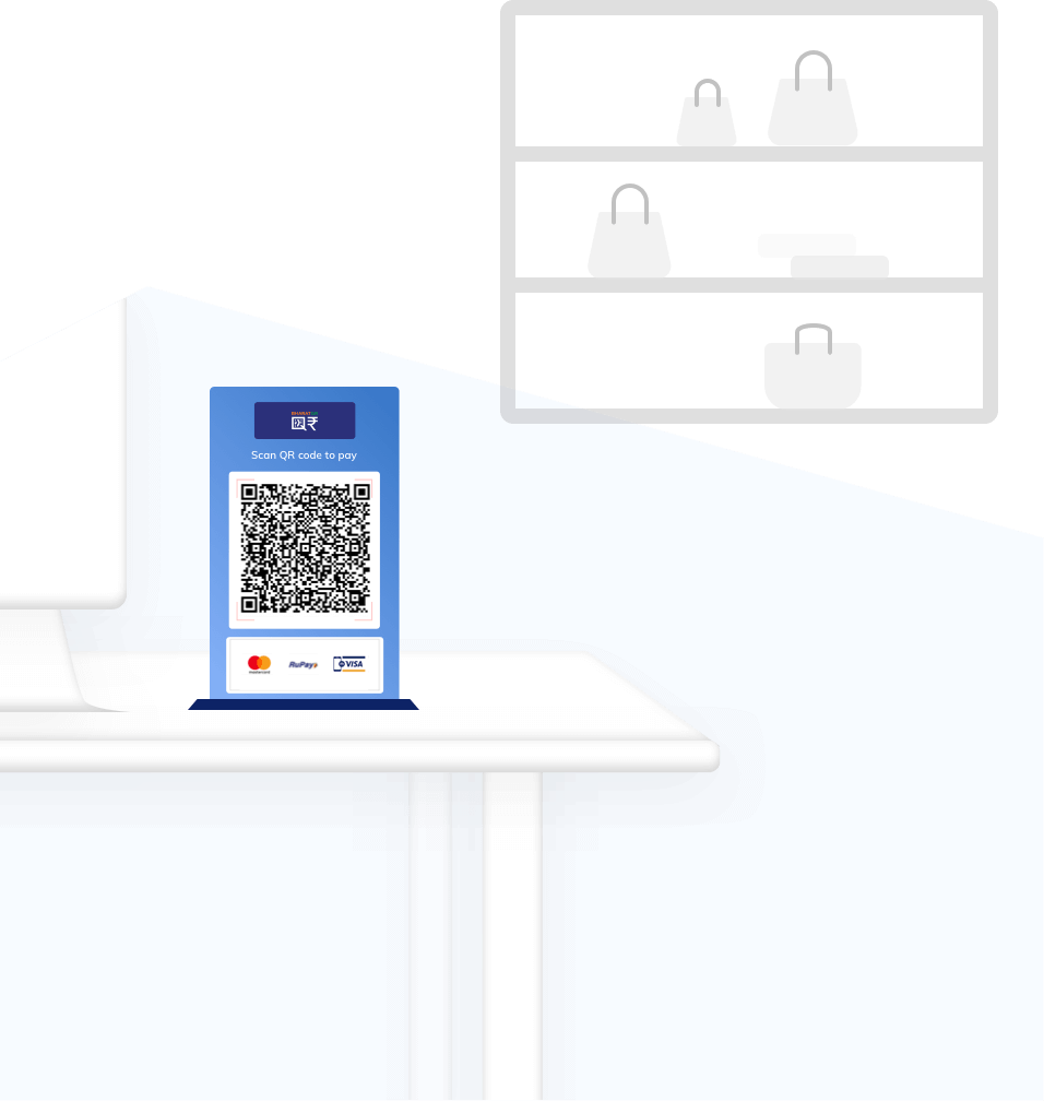 illus-Static QR for Retail Stores