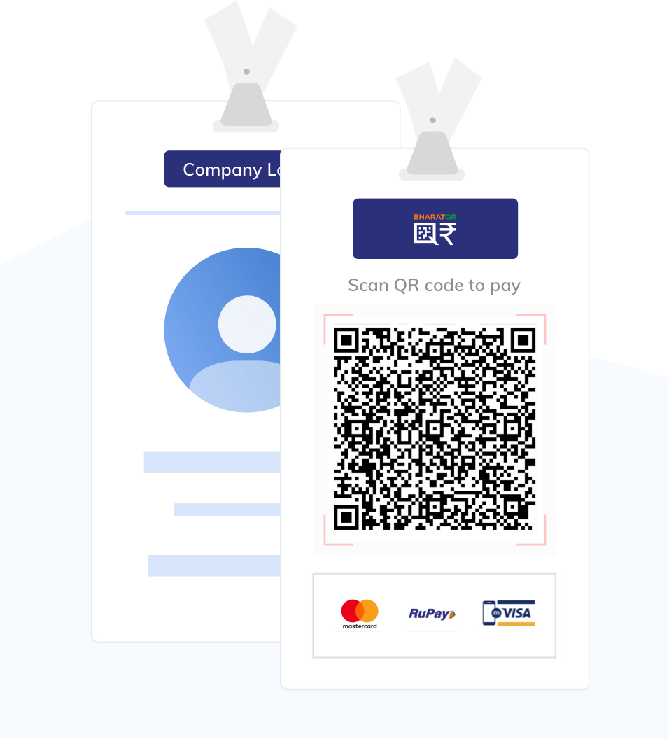 illus-Static QR for ID cards