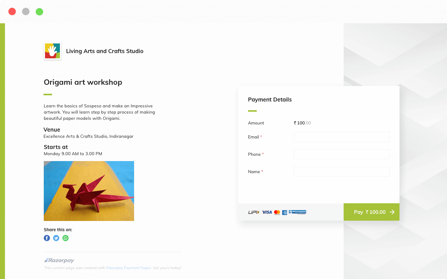 Payment Pages - PCI Compliant Hosted Secure Checkout Payment