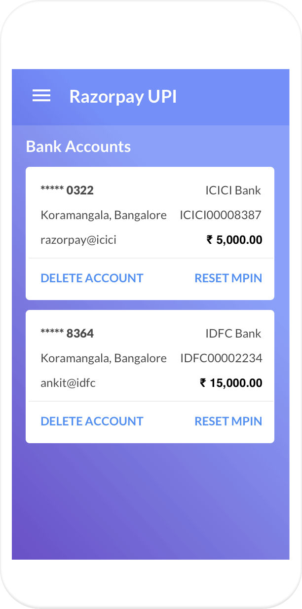 UPI - Accept UPI Payments via BHIM, PhonePe, WhatsApp